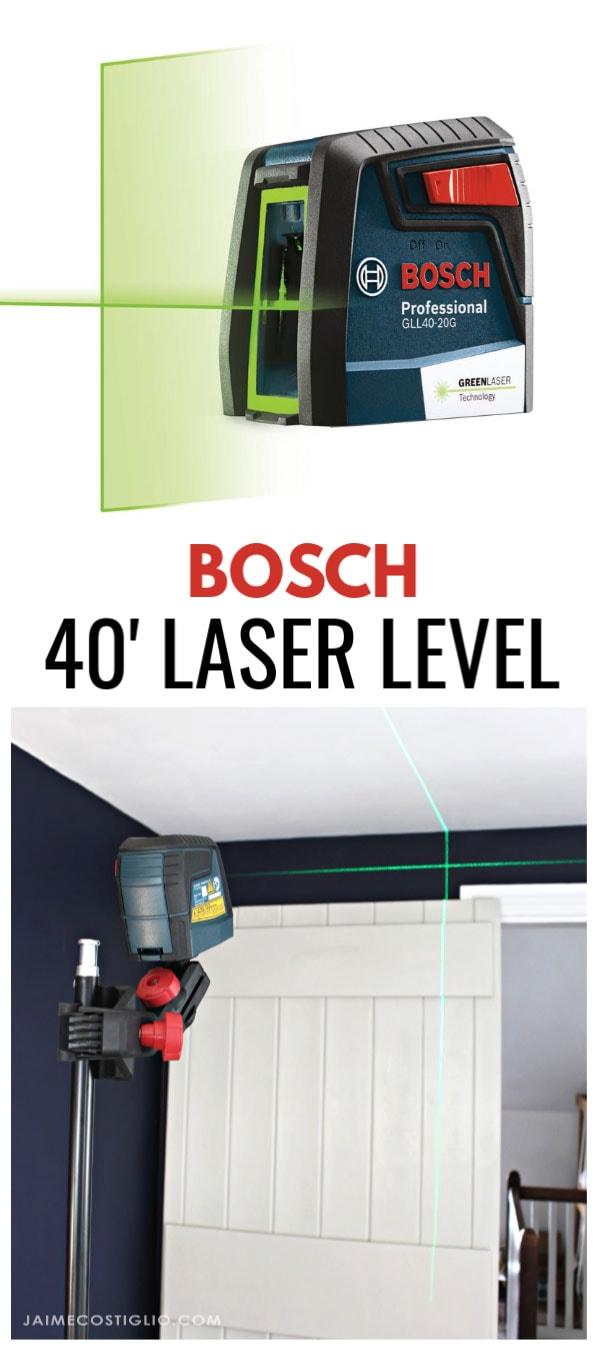 bosch 40' green laser level
