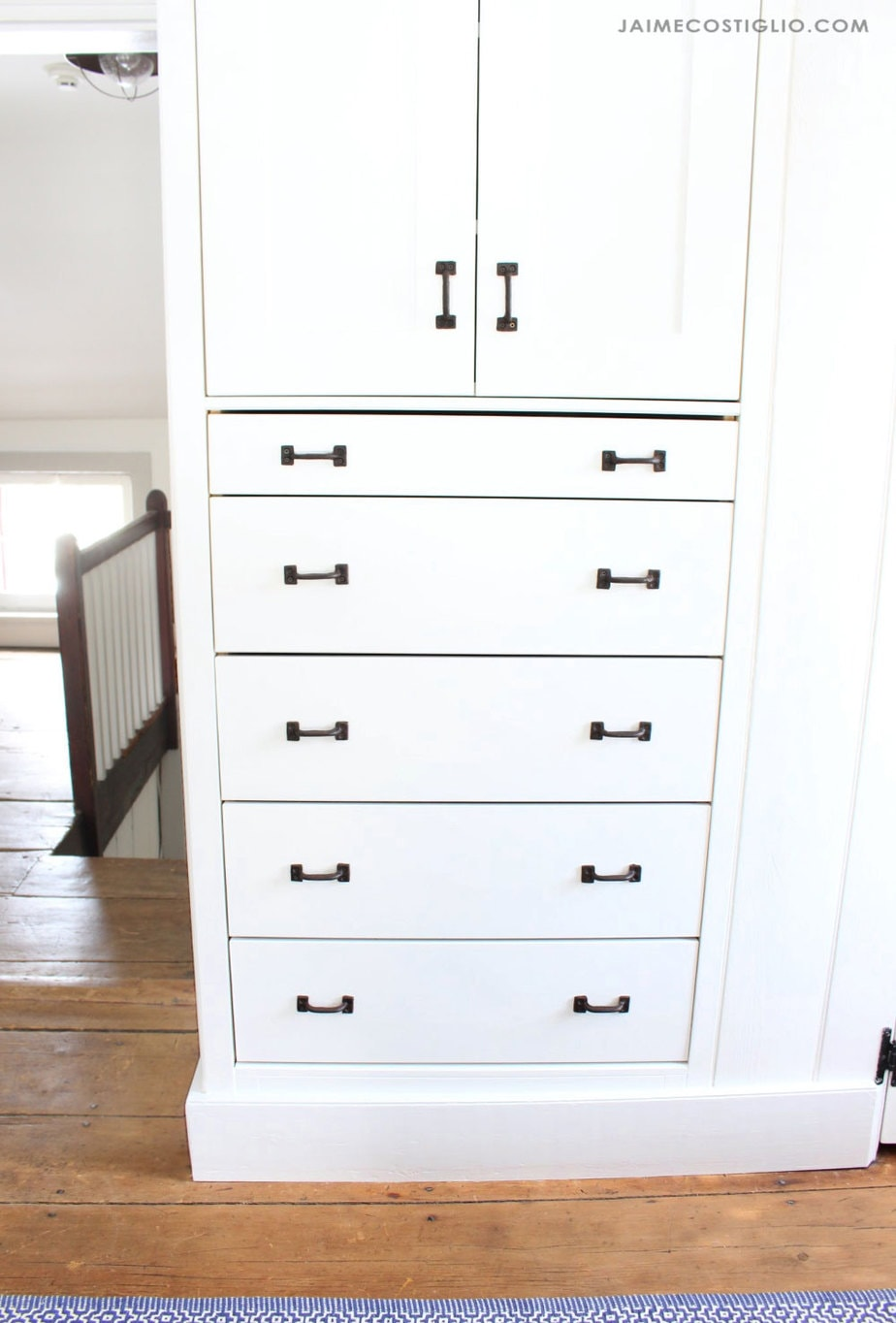 ikea tarva built in dresser