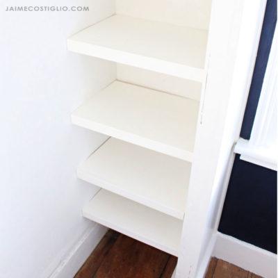 easy closet shelving