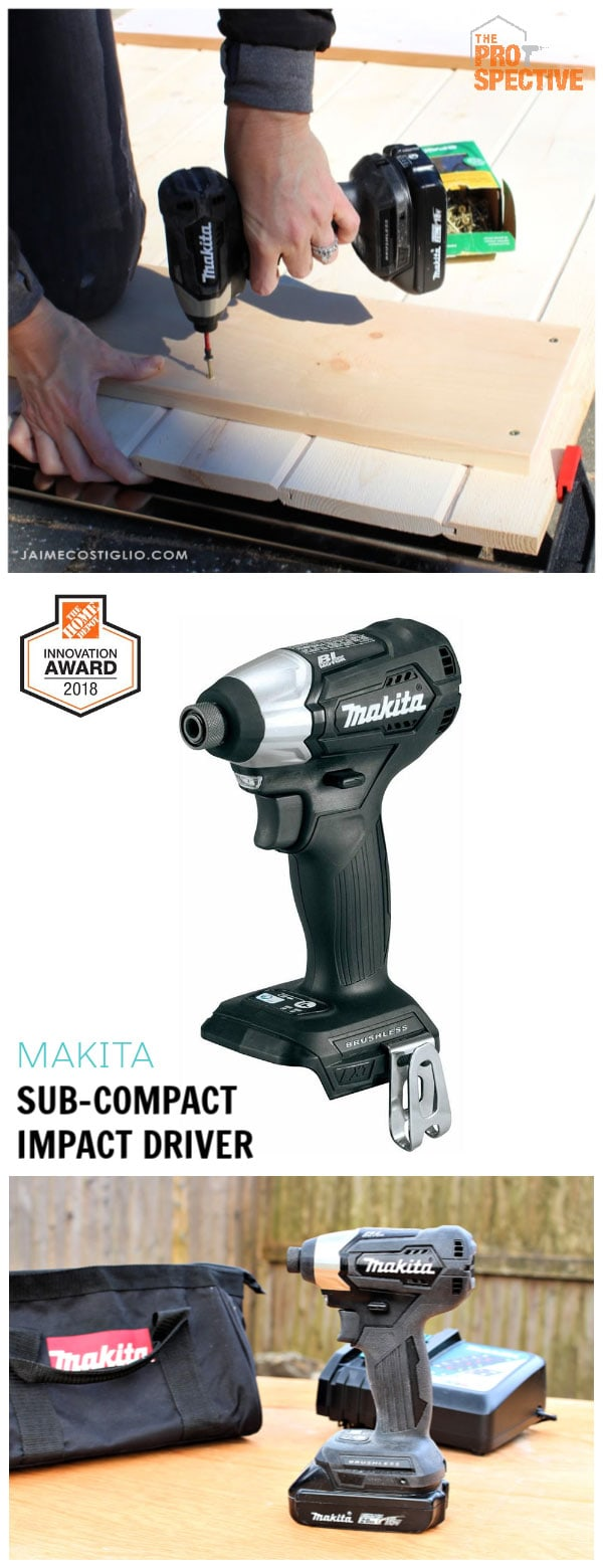 makita subcompact impact driver collage