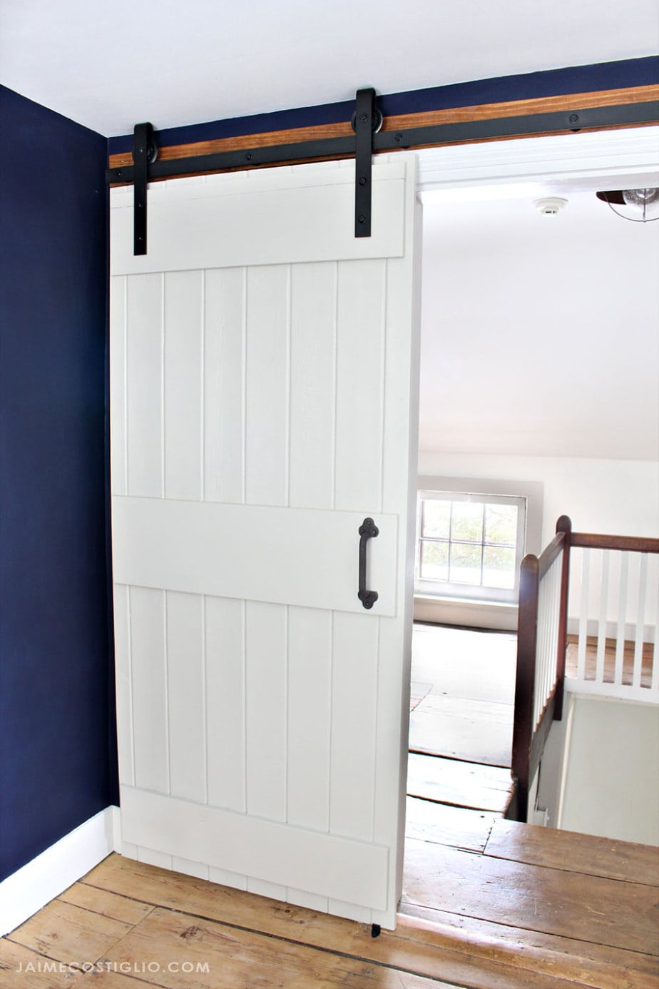 farmhouse style sliding barn door