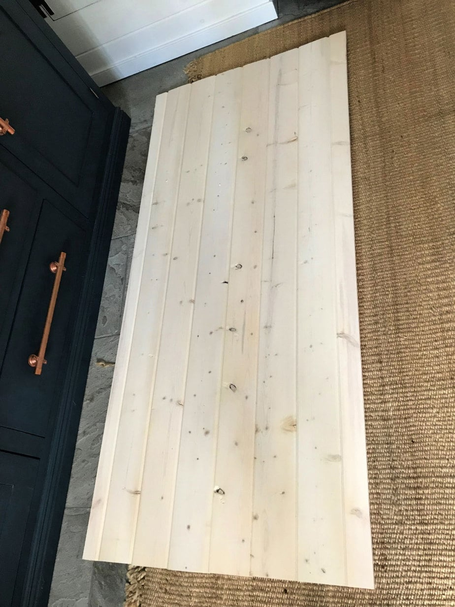 simple barn door exterior view