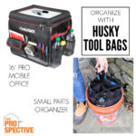 Keep Organized with Husky Tool Bags
