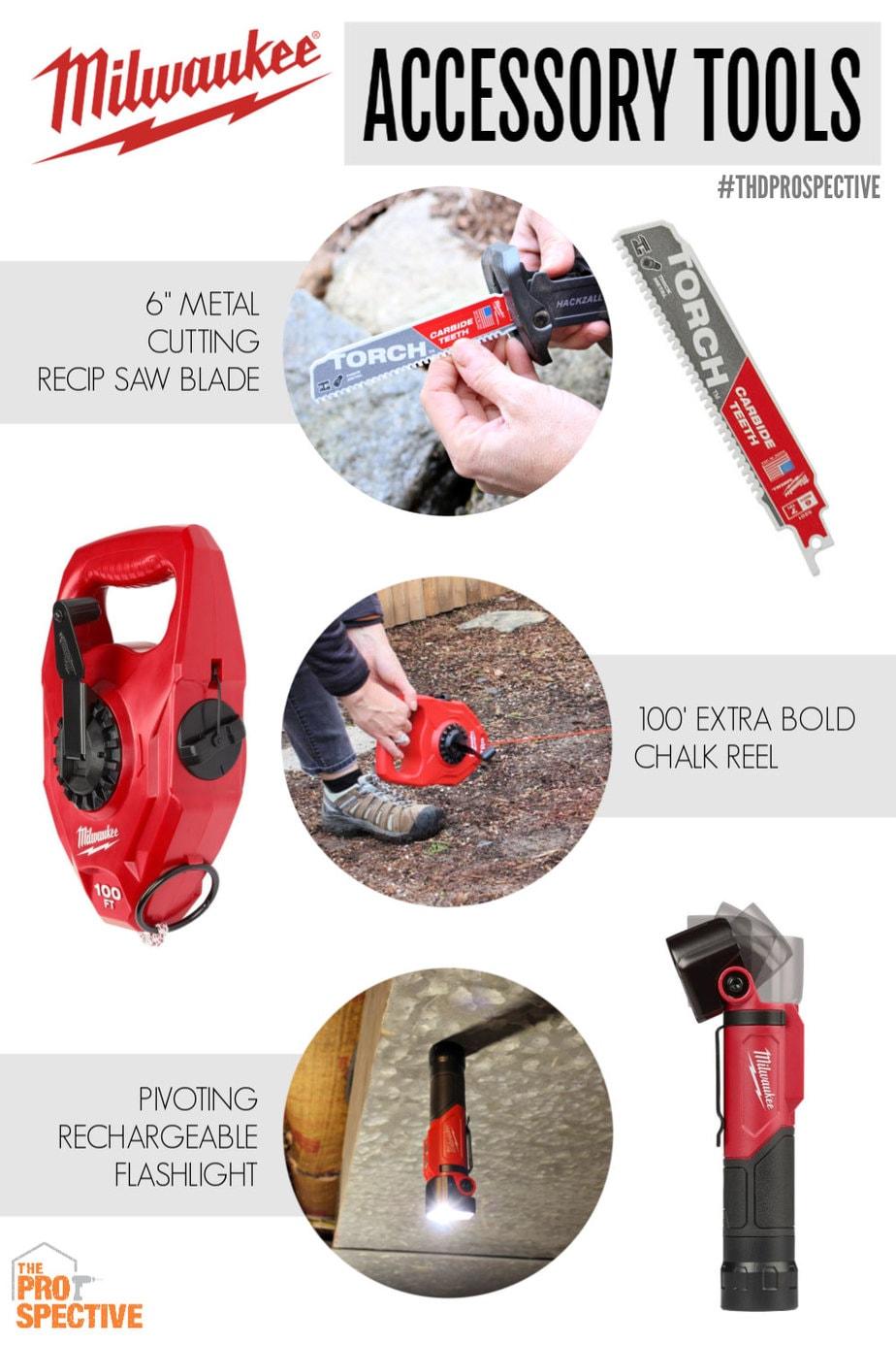 milwaukee accessory tools