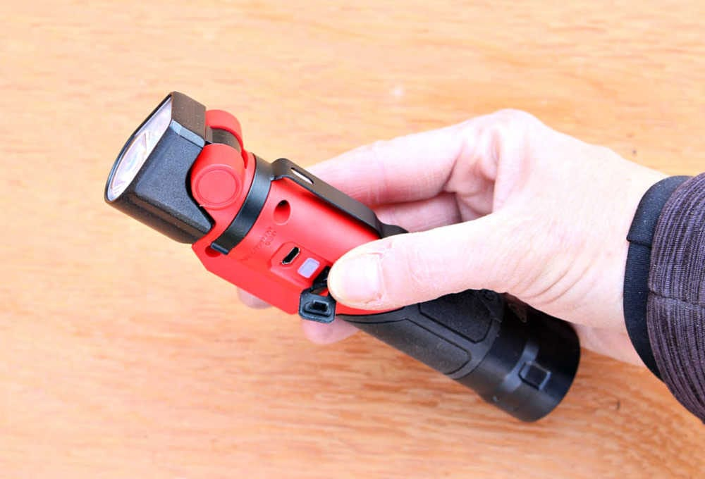 rechargeable port with cover