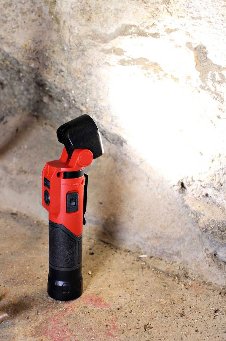 flashlight pivot head
