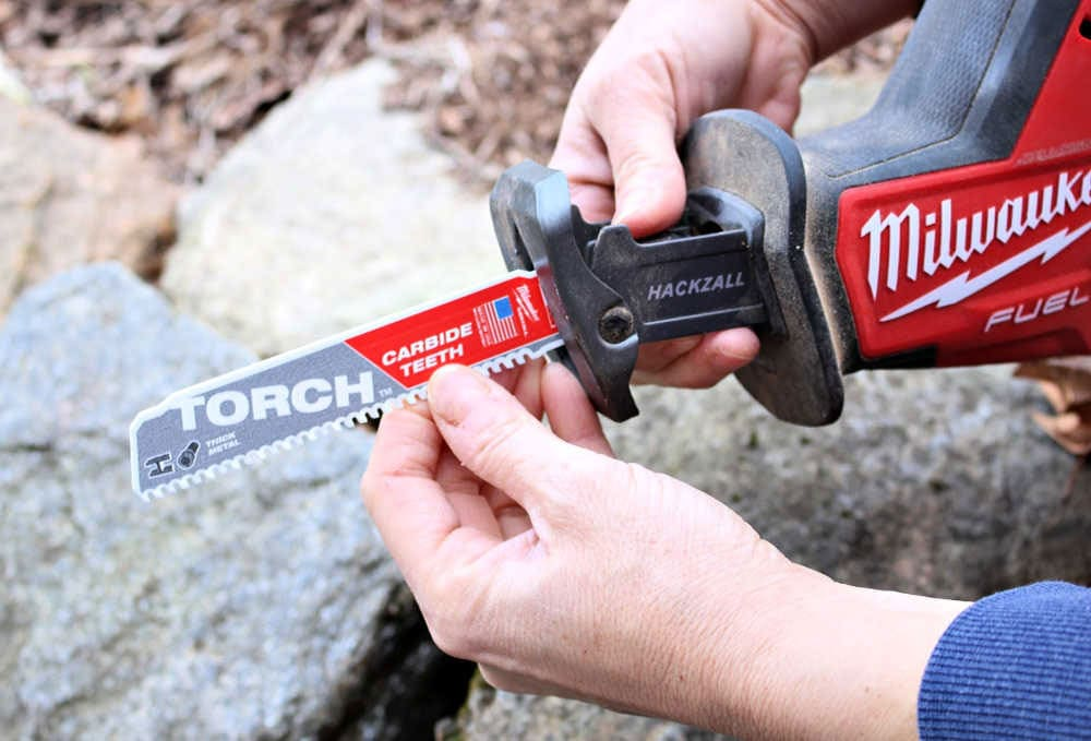 torch carbide reciprocating saw blade