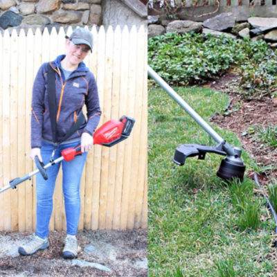 milwaukee string trimmer feature