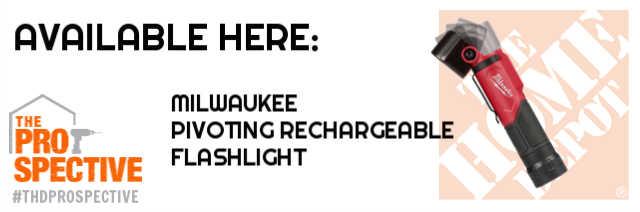 milwaukee pivoting flashlight at home depot