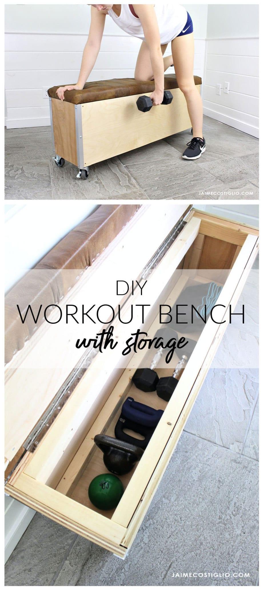 diy workout bench free plans