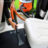 ridgid wet dry vac with claw nozzle attachment