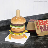 diy stacking burger toy