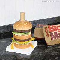 diy stacking burger toy