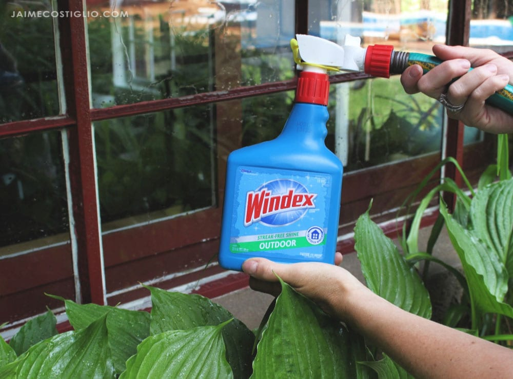windex outdoor cleaner with hose