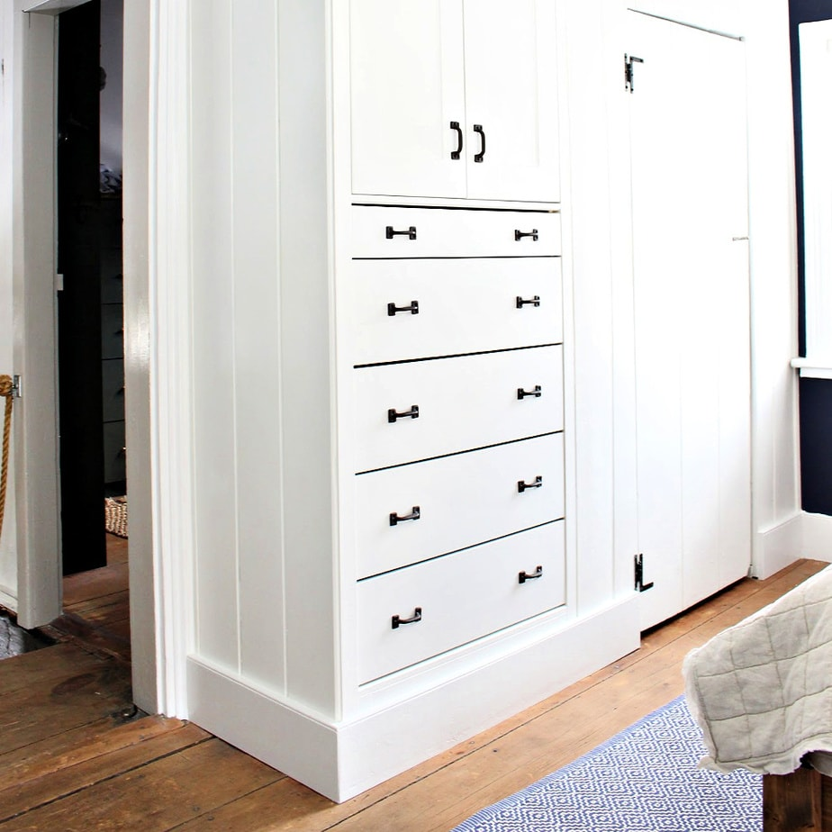 shaker style built ins