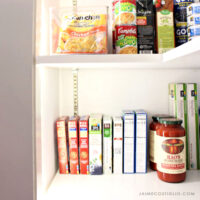 pantry makeover after