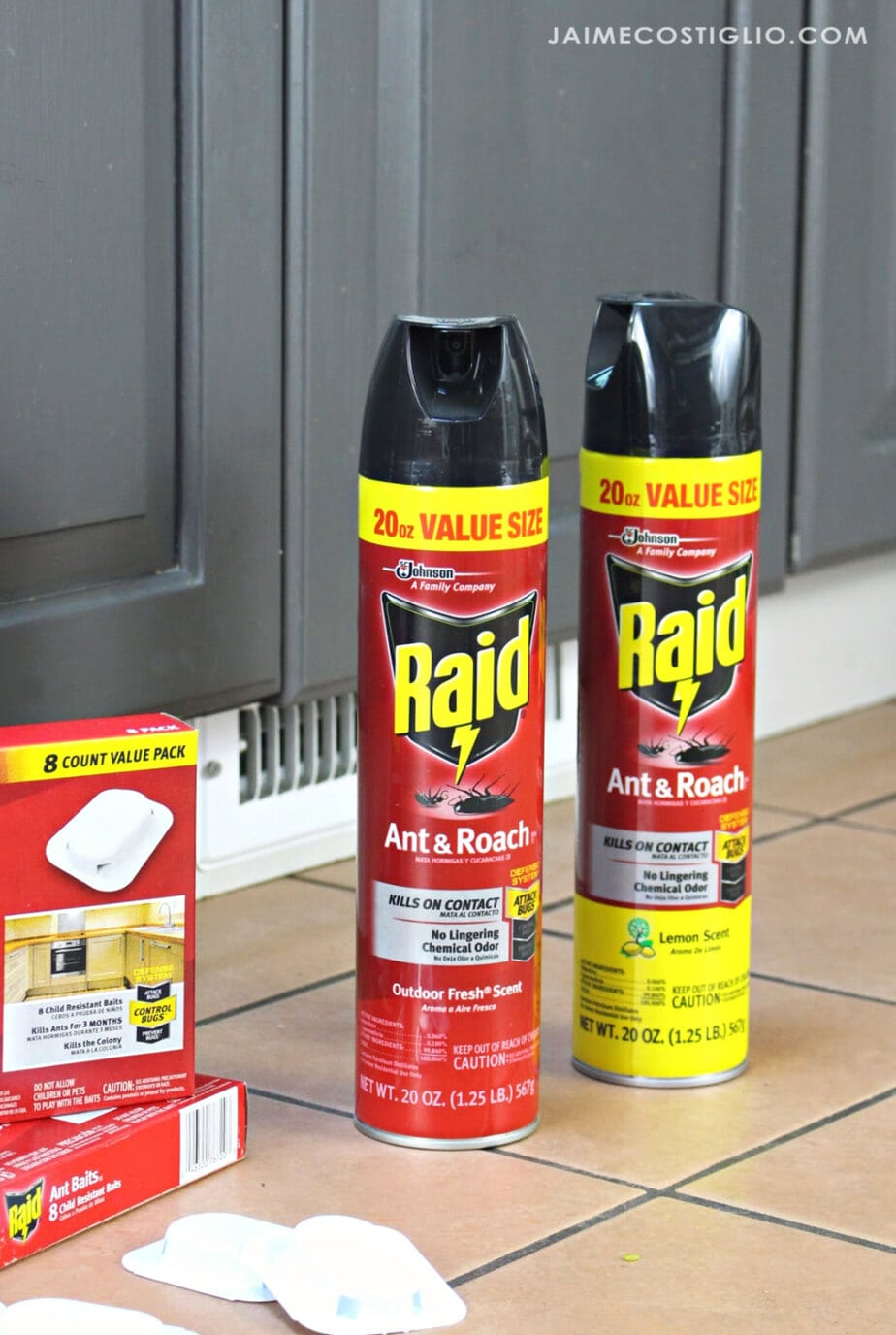 raid ant and roach spray