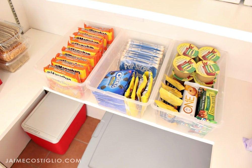 easy snack storage