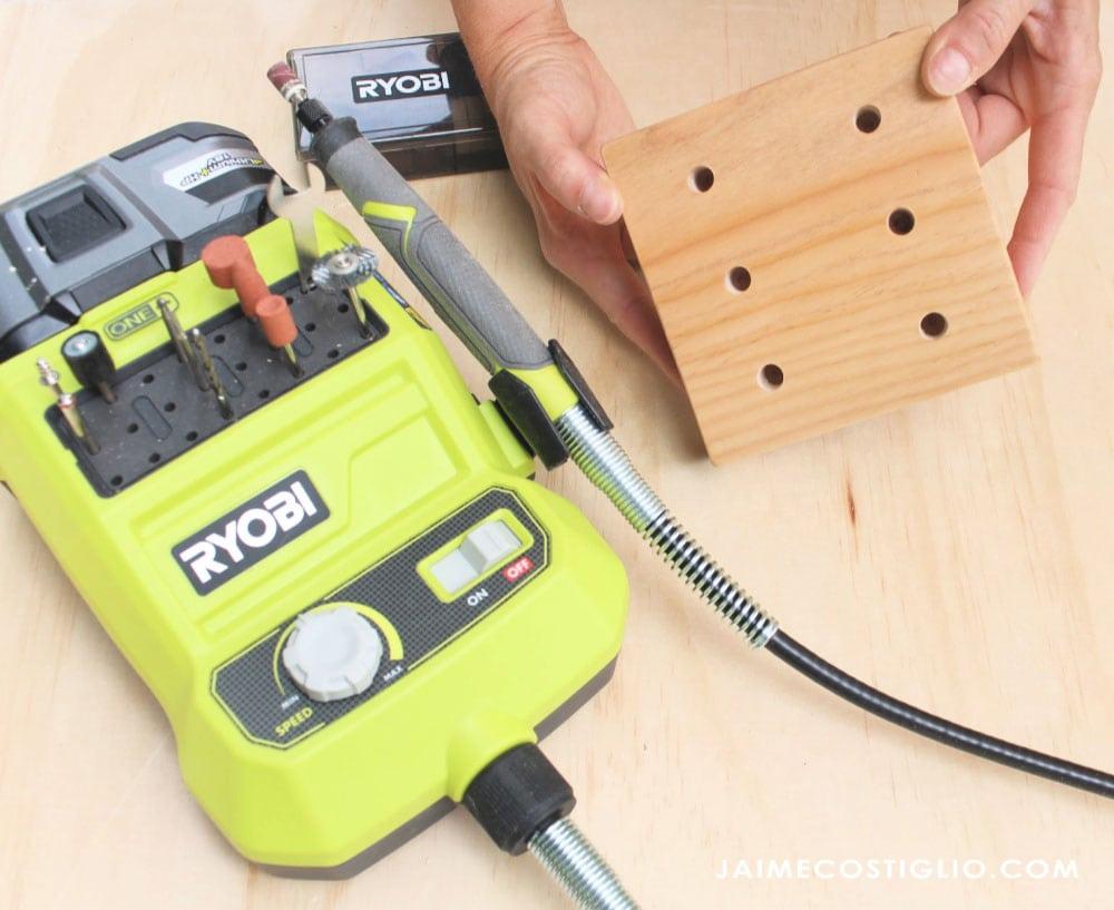 ryobi rotary tool for sanding