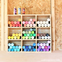 craft paint storage container