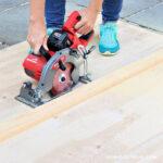 Milwaukee Cordless Rear Handle Circular Saw