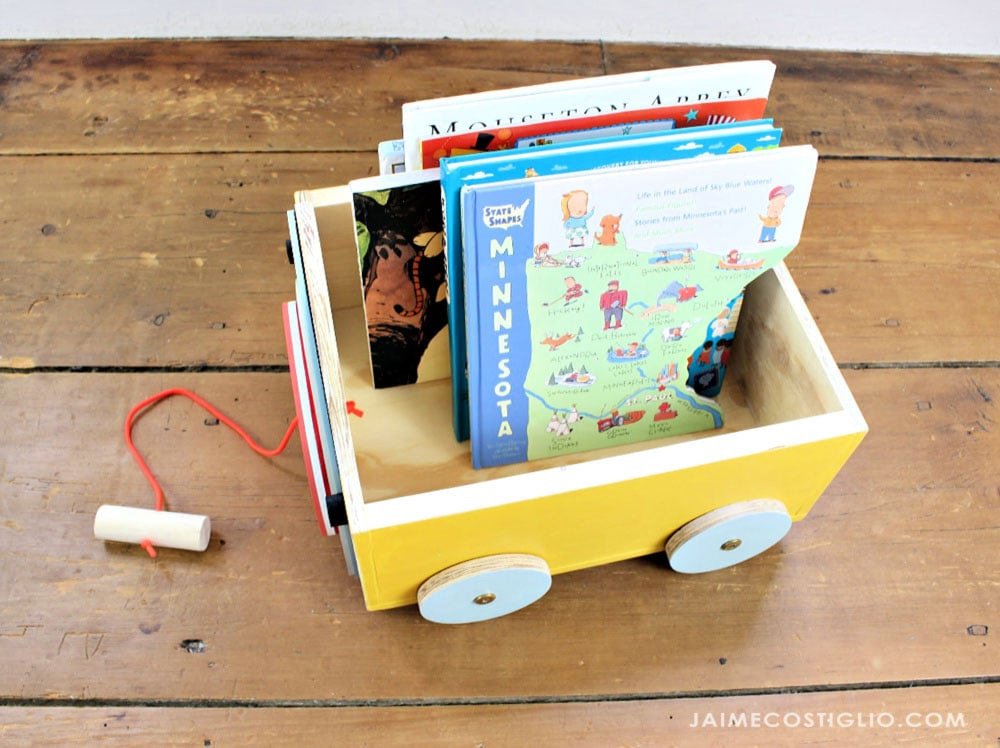 book storage cart