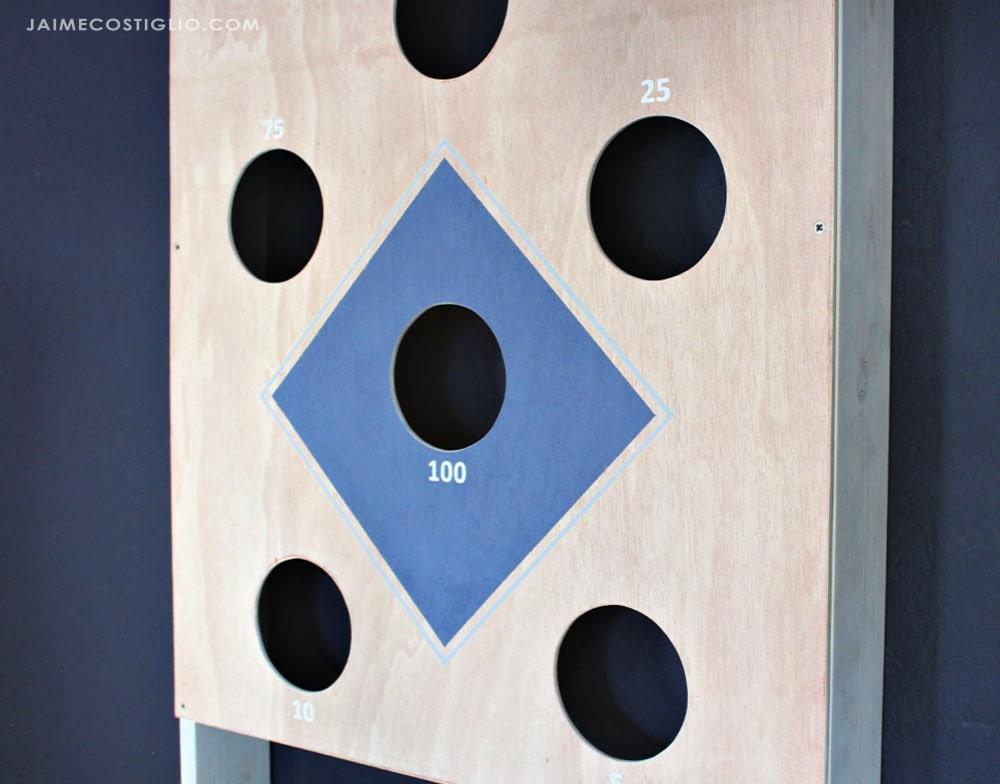 beanbag toss holes