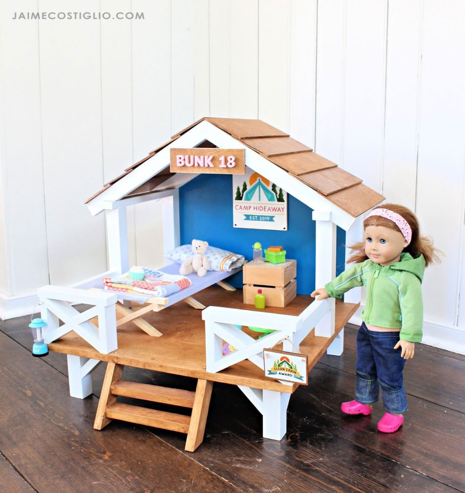 "18"" doll camp bunk"