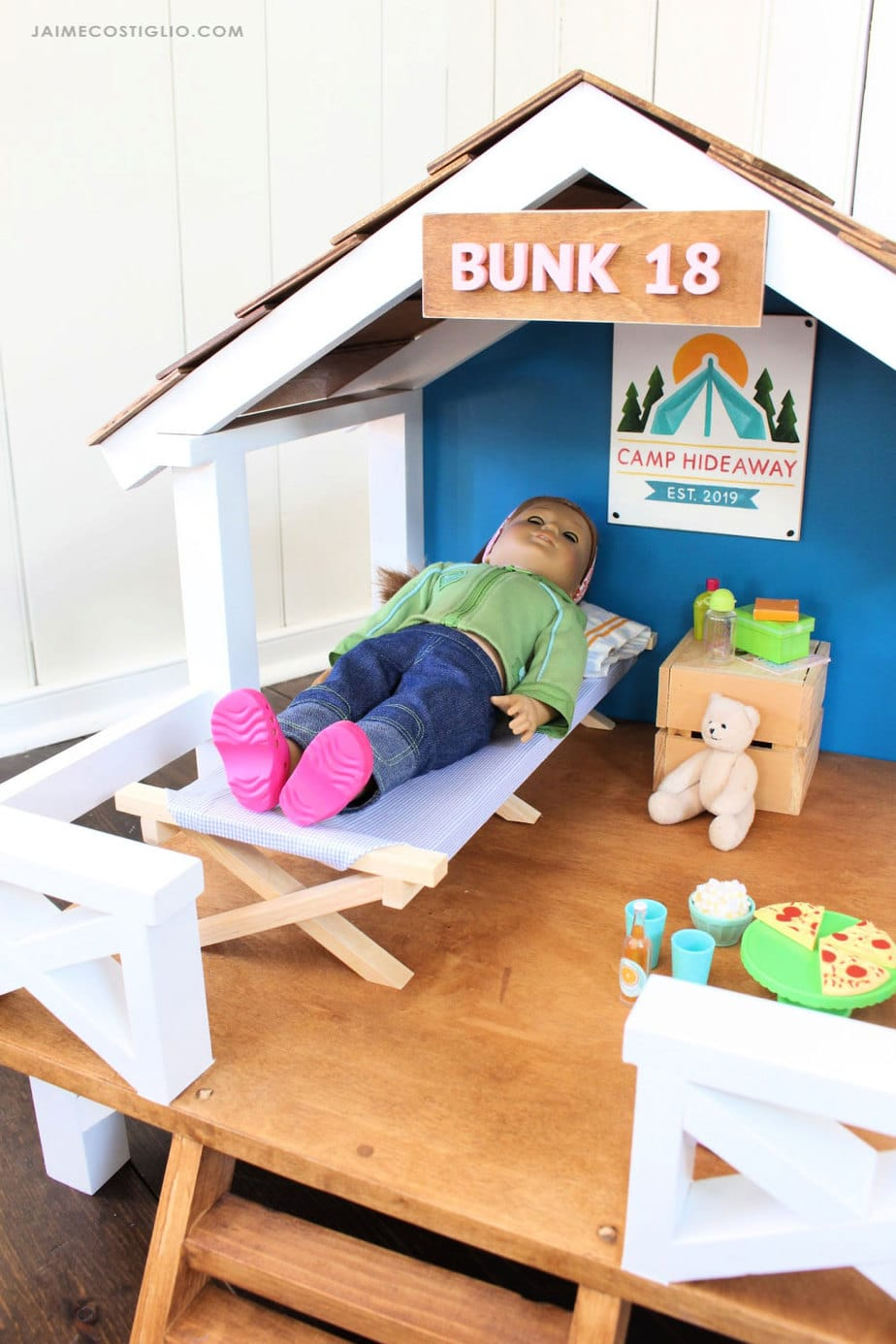 camping cot for dolls
