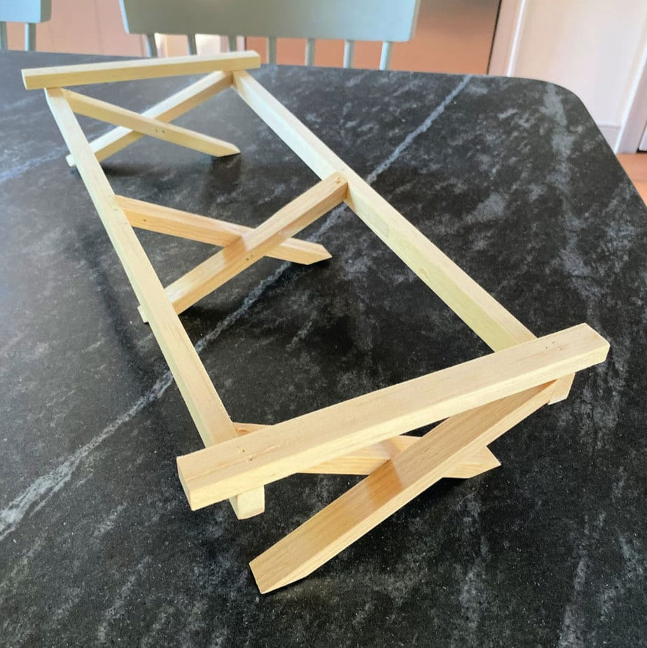 "18"" doll camping cot frame"