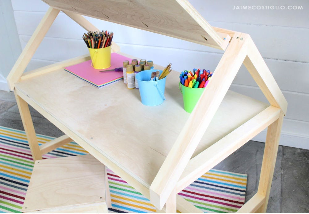 lift up desk for kids