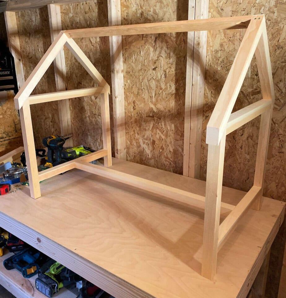 house play table desk frame