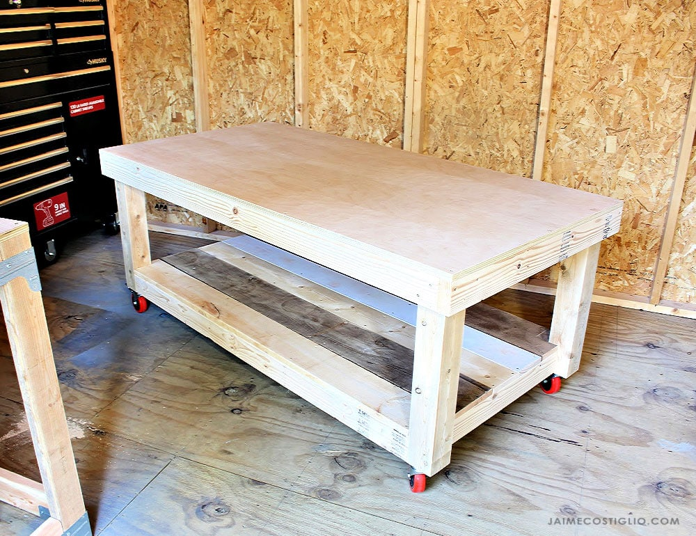 diy worktable