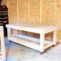 diy low workbench