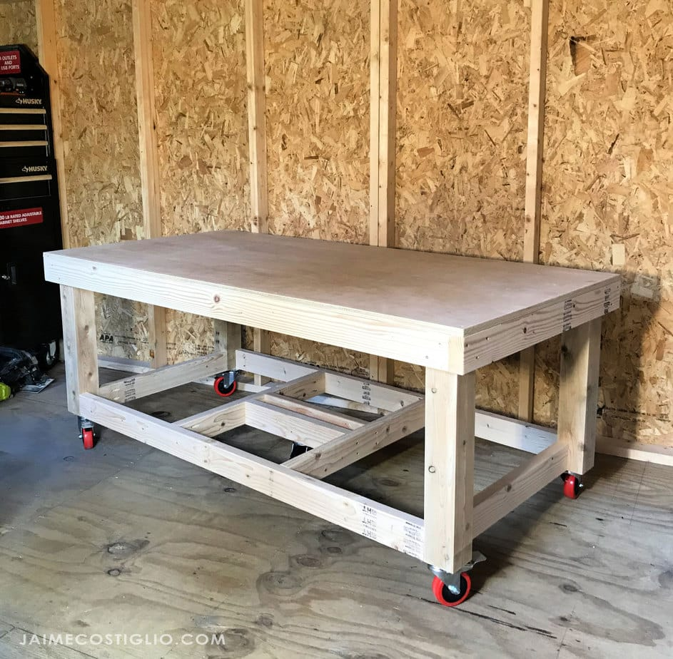 building a low workbench
