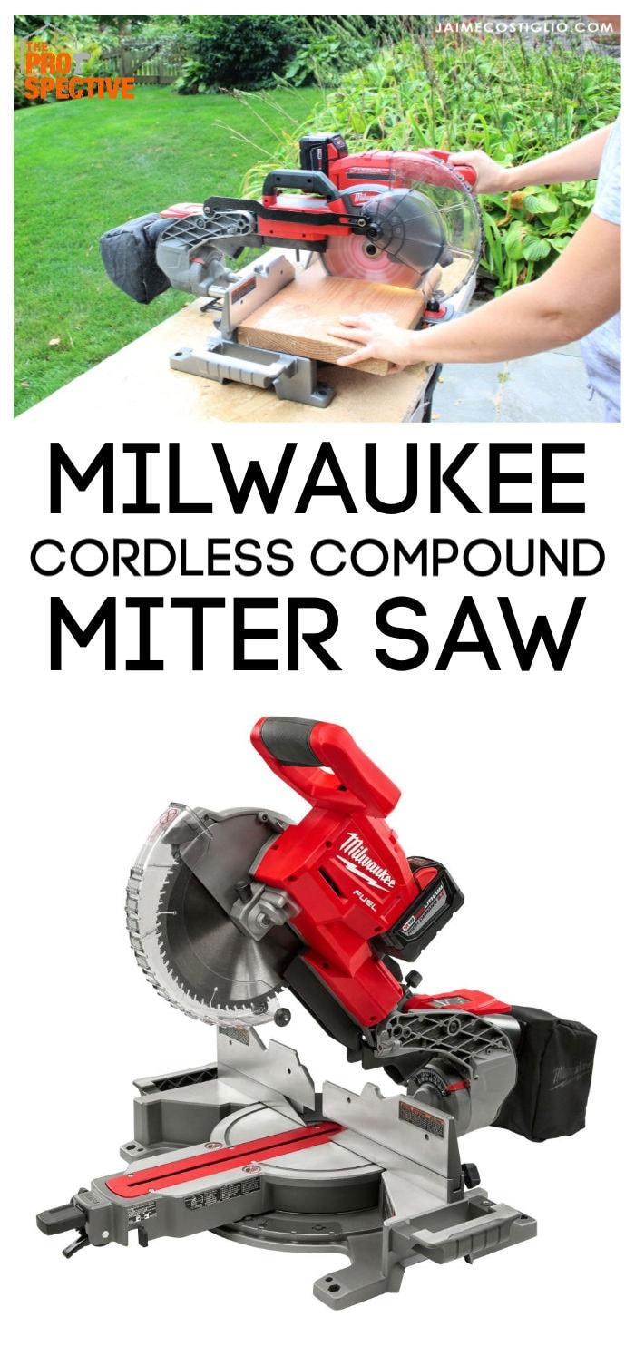 milwaukee cordless compound miter saw