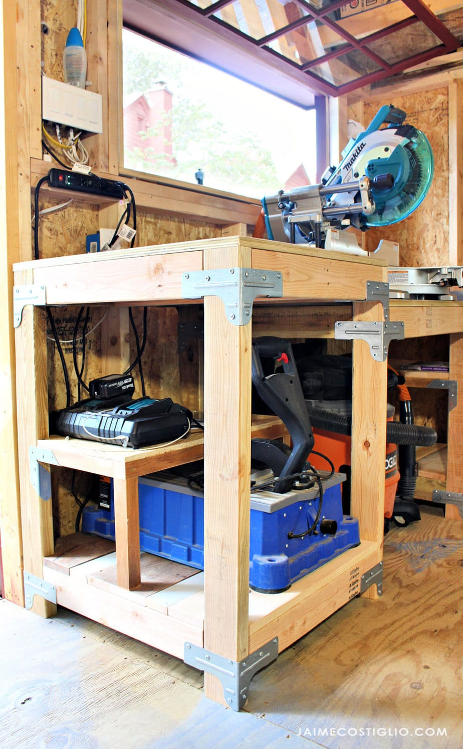 half shelf for battery charger