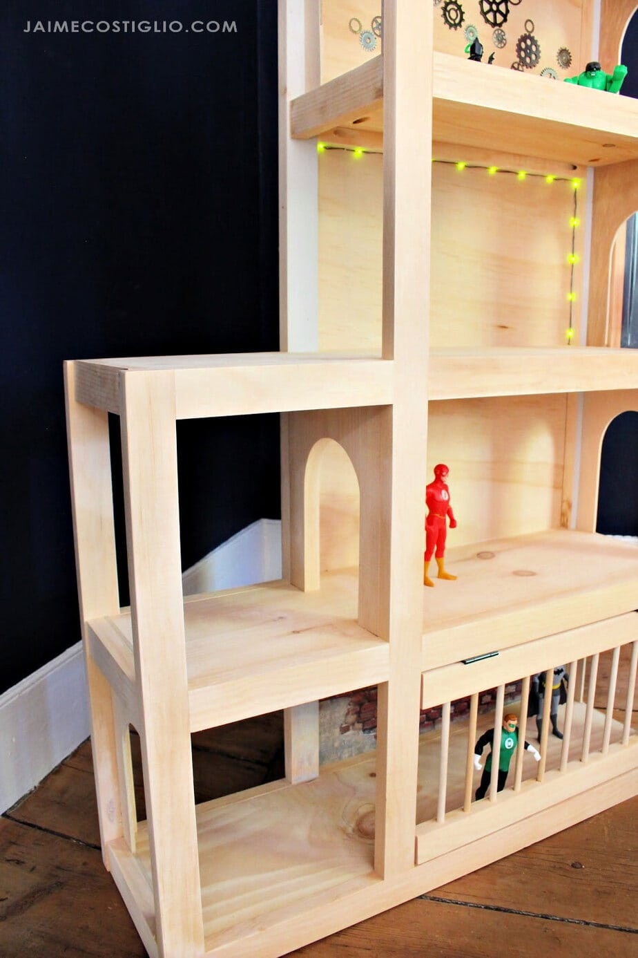 playhouse with levels
