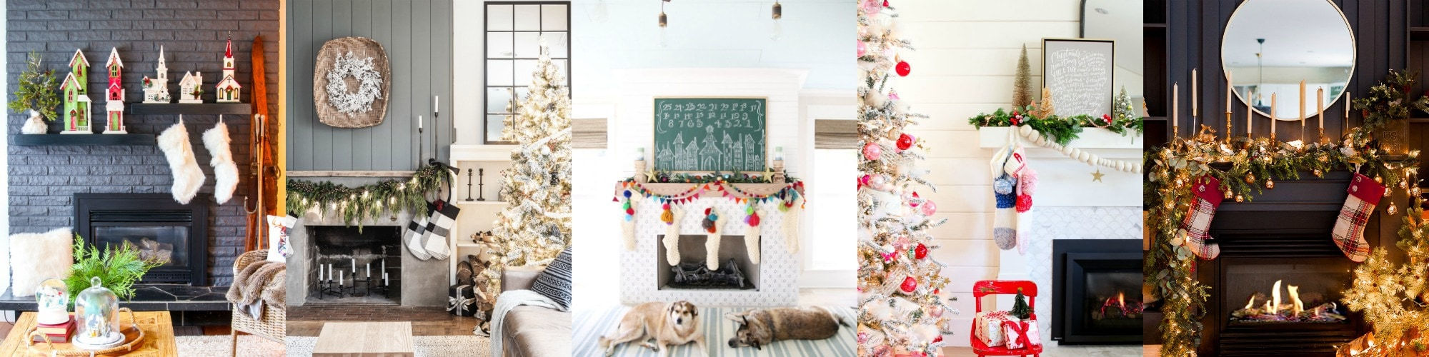 diy christmas mantel decor