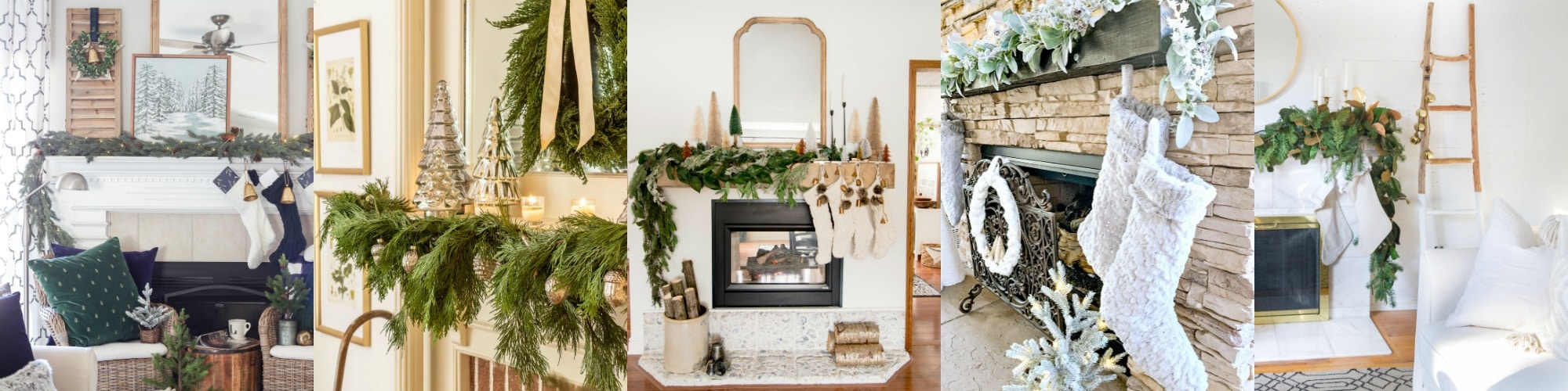 christmas mantels to love