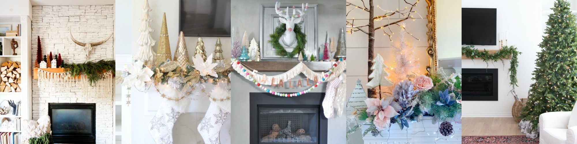 holiday mantel ideas