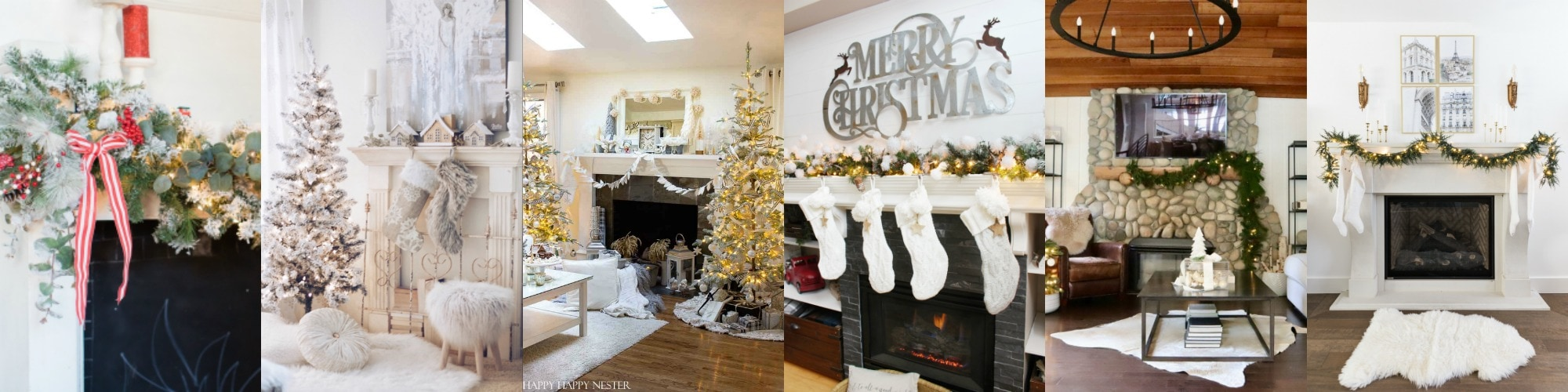 inspiring holiday mantels