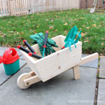 DIY Kids Wheelbarrow