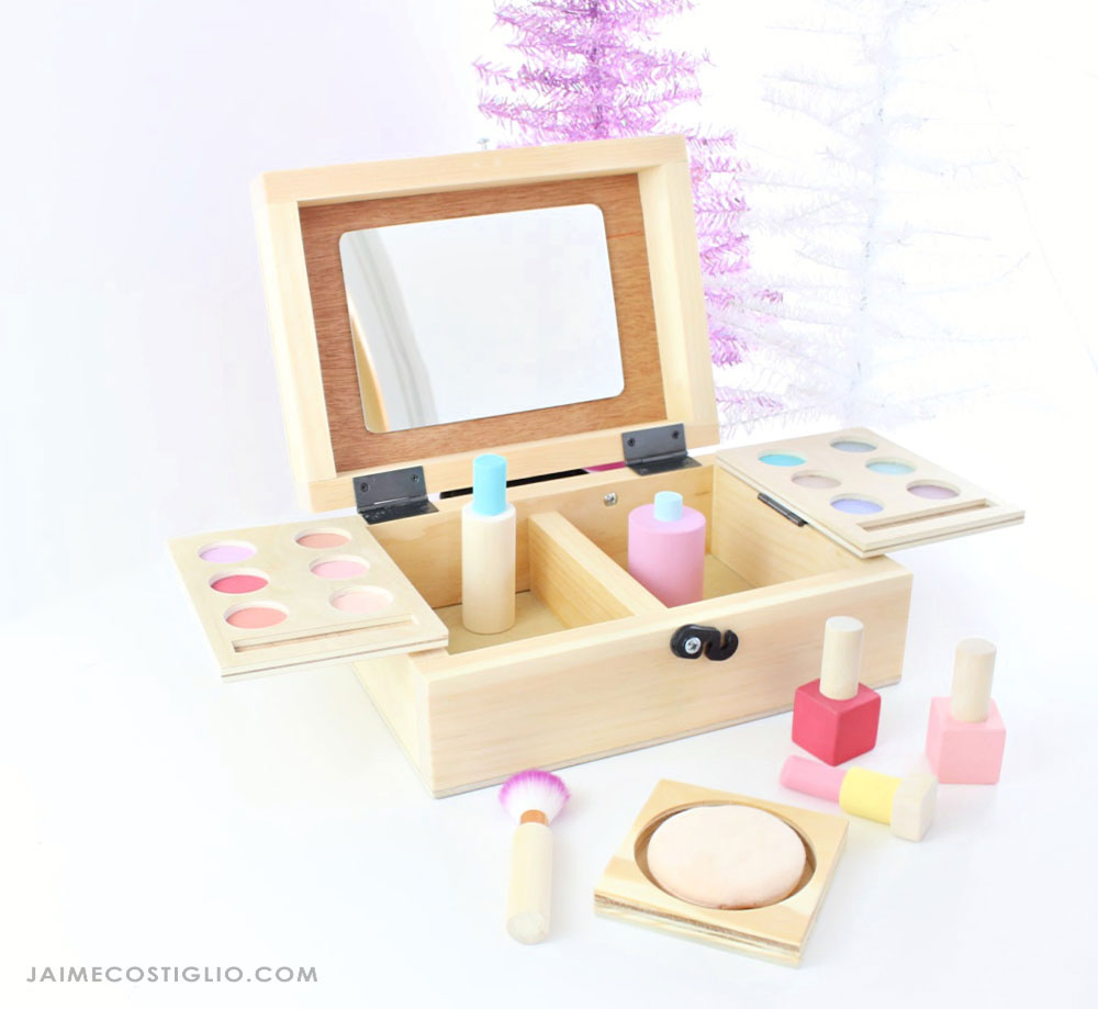 diy kids beauty box