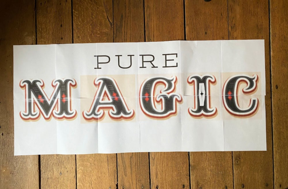 pure magic sign layout