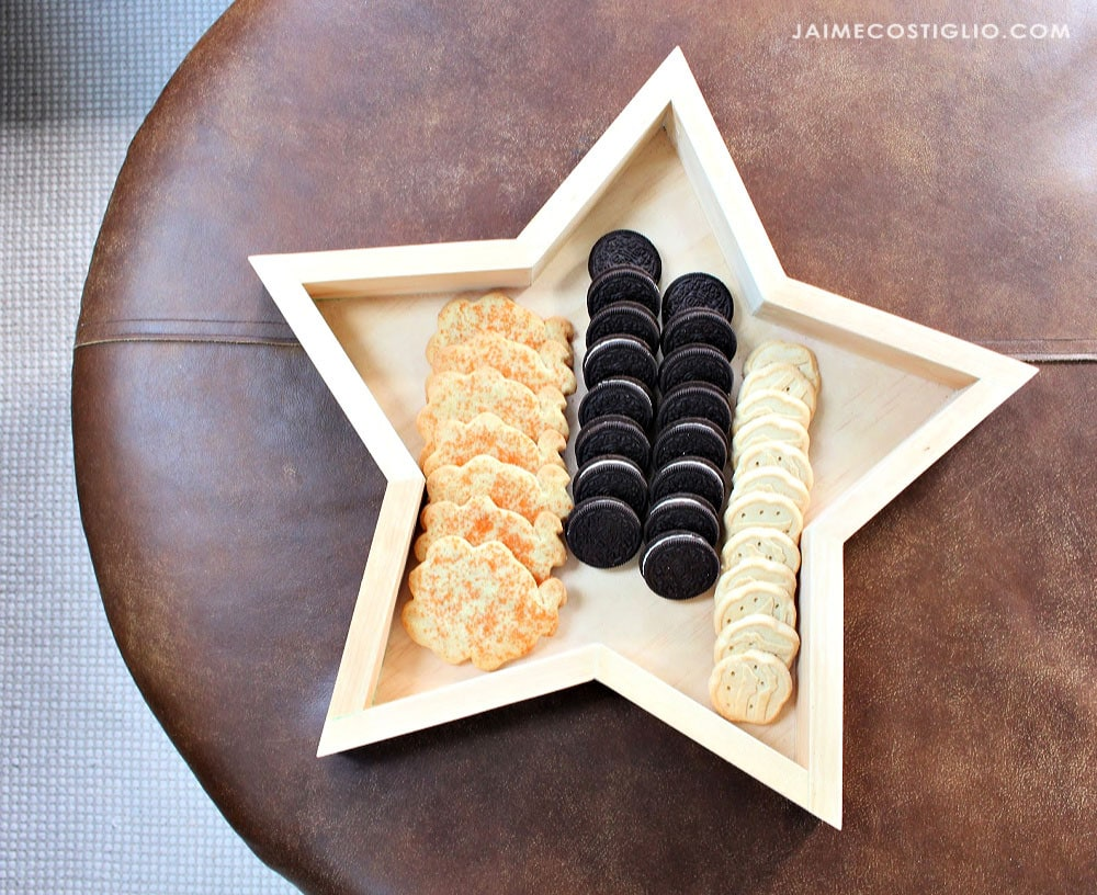 star serving tray