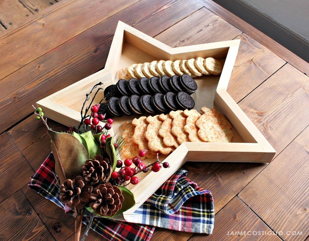 hostess gift tray