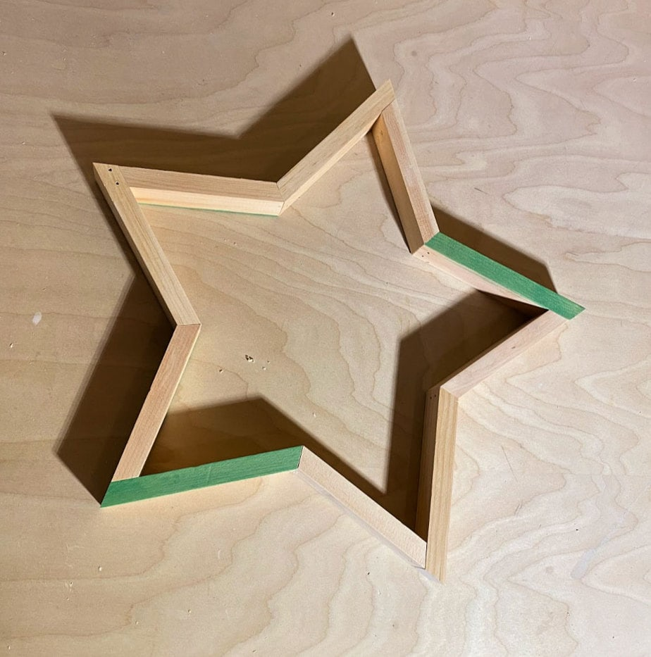 dry fit star shape