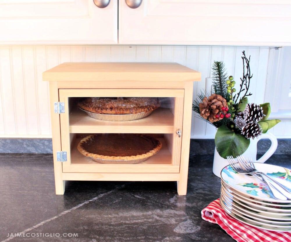 pie safe with plexi door