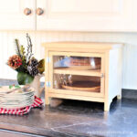 DIY Countertop Pie Safe